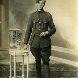 Bidprentje soldaat, Eerste Wereldoorlog