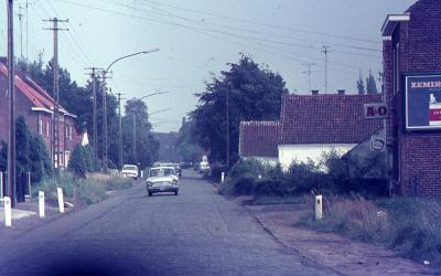 De Roombaardstraat te Nazareth in de 'seventies'