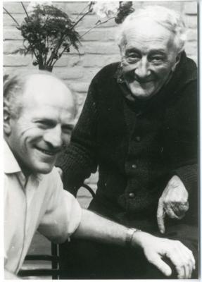 Antoon Van Parys en zijn zoon Luc