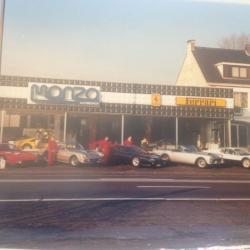 Garage Monza in 1984
