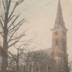 De Hansbeekse parochiekerk voor de Eerste Wereldoorlog