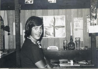 Rudy Taelman in jeugdhuis 't Sloefke