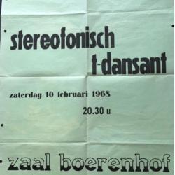 Affiche stereofonisch t-dansant