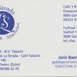 visitekaartje La Strada