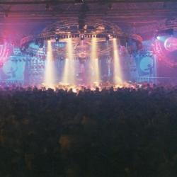 Lazershow op Stuntnacht 2001 in Brielpoort Deinze