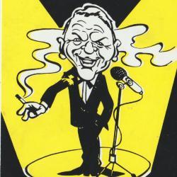 Sticker dancing Sinatra
