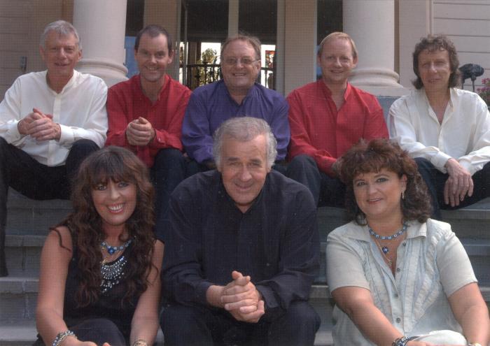 The Bobby Setter Band  in volledige bezetting