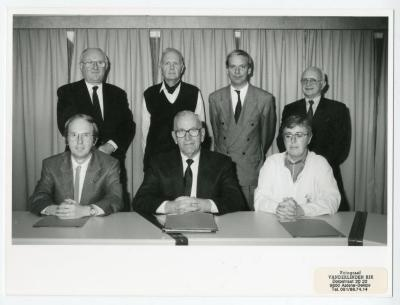 Het bestuur van VVV Leiestreek in vroegere jaren