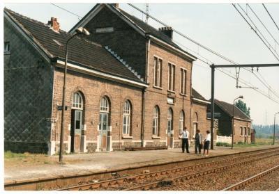 Het station van Olsene