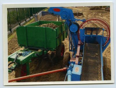 Aardappelrooimachine