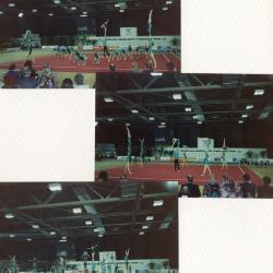 Een groepsoefening van Sportac '86