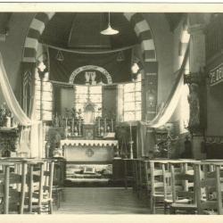 Kerk van Baaigem interieur