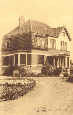 Villa Van Speybroeck, De Pinte