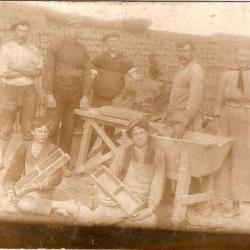 steenbakkers 1920-30 Aloïs Verstraeten, Camilla De Vos, Eufrasie Van de Voorde.jpg