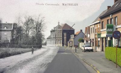 Machelen, statiestraat - dorpsstraat