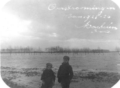 Machelen, overstromingen van 1925 1926