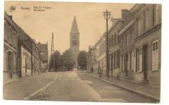 Postkaart van de Gaverse Kerkstraat