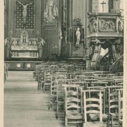 O-L-V Geboortkerk Nazareth, interieur