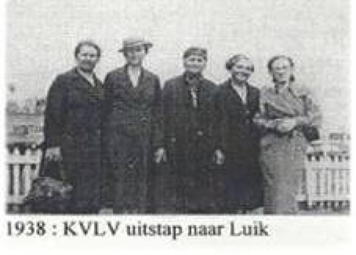 Boerinnenbond Zevergem naar Luik in 1938