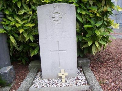 Oorlogsgraf van Hudson Grand Murray op het kerkhof van Nazareth