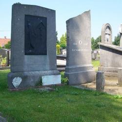 Oorlogsgraf  Maurice Corbisier op de begraafplaats van Deinze
