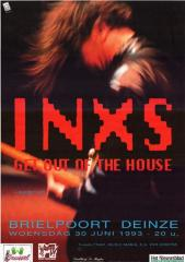 Concert van INXS in de Brielpoort