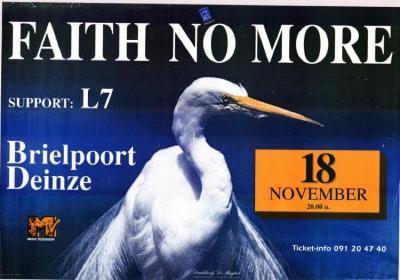Optreden van Faith No More in de Brielpoort