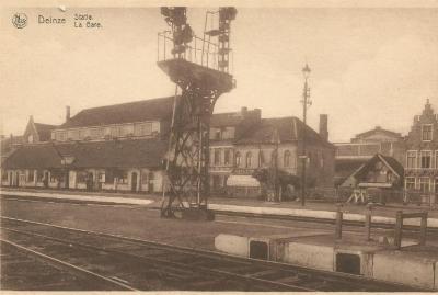 'Noodstationsgebouw' van Deinze