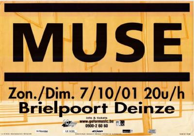 Muse in de Brielpoort