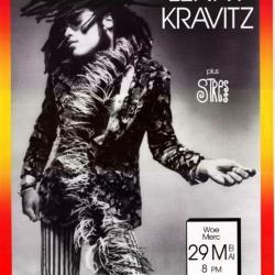 Aankondiging concert Lenny Kravitz