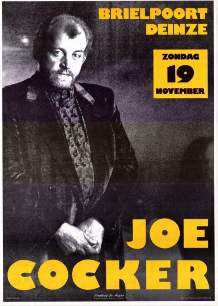 Joe Cocker in de Brielpoort