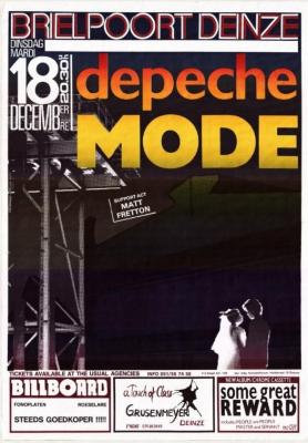 Depeche Mode in de Brielpoort