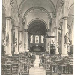Gavere Binnenkant kerk 1903