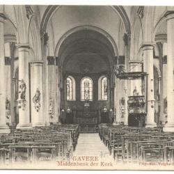 Gavere Middenbenk (sic) der Kerk