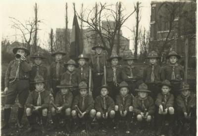De scouts van Deinze