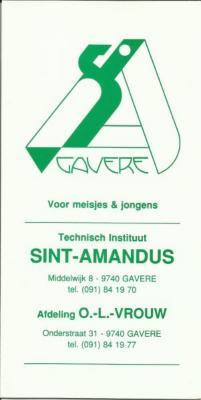 Brochure T.I.S.A. na de fusie met T.I.O.L.V.