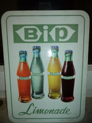 Limonade BIP van brouwerij Anglo-Belge