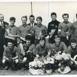 De kampioenenploeg van Sparta Petegem van het seizoen 1968-1969