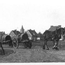 Zicht op Sint-Martens-Latem vanuit Koutermolen