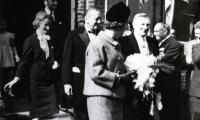 Bezoek koningin Fabiola