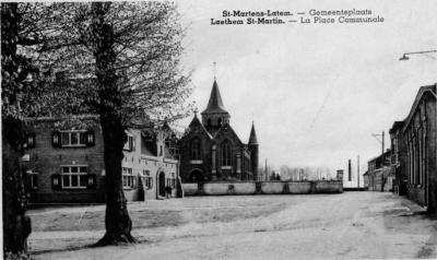 De 'dorpsplaats' van Sint-Martens-Latem