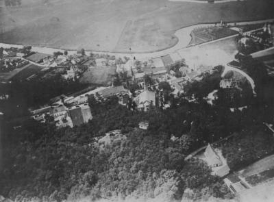 Luchtfoto van Deurle anno 1927