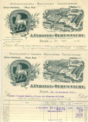Briefhoofd Anglo-Belge uit de jaren 1920