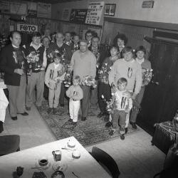 De gewestkampioenen van de krieleniers anno 1986
