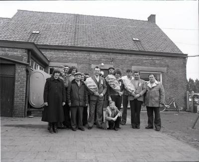 Belgisch kampioenschap hanenkraaien anno 1980