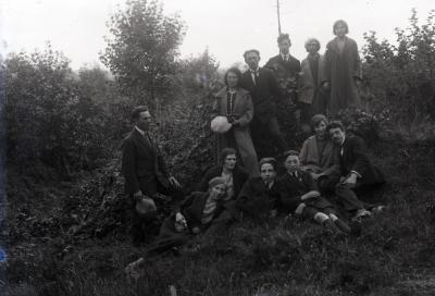 Vriendenuitstap tijdens de jaren 1920