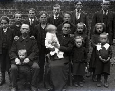 Familiefoto van Familie Crombrugghe