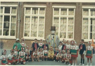 Schoolfeest op de Vrije Basisschool van Eke