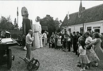 Egidius van Baaigem en Miss Neue Patat