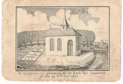 De oude Nazarethse parochiekerk